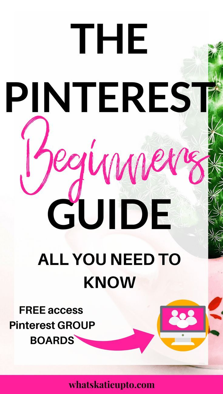 The Ultimate Pinterest Guide A-Z - Katie Grazer Blog