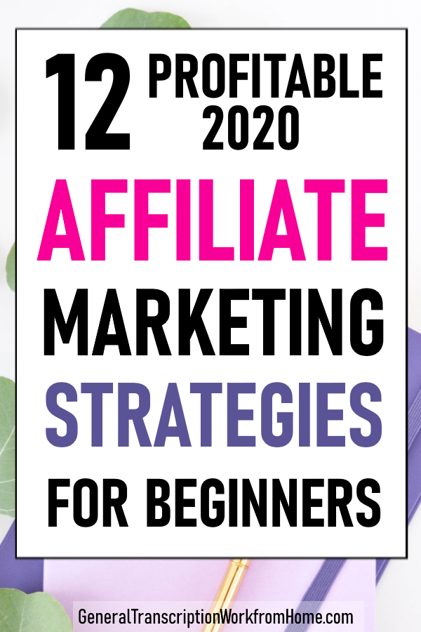 Profitable Affiliate Marketing for Beginners