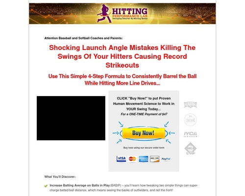 Pitch-plane Dominator Online Video Hitting Course